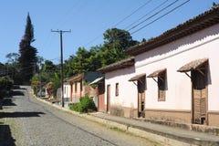 Il villaggio di Conception de Ataco su El Salvador Fotografia Stock Libera da Diritti