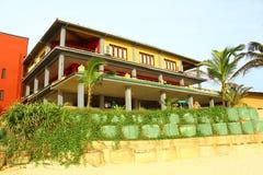 Il villaggio di Koggala del club Immagine Stock