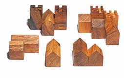 Il villaggio di legno Fotografia Stock Libera da Diritti