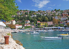 Rabac, Istria, Croazia immagini stock libere da diritti