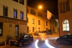 Il villaggio di Sonvico sulla zona italiana della Svizzera Immagini Stock Libere da Diritti