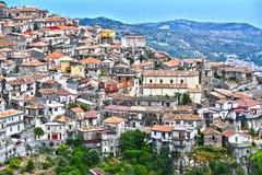 Il villaggio di Staiti nella provincia di Reggio Calabria, Italia immagini stock