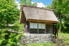 Il villaggio giapponese storico Shirakawa-va di estate immagine stock libera da diritti