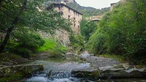 Il villaggio medievale Beget fotografia stock libera da diritti