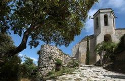 Il villaggio Oppede-le-Vieux in Provenza Immagini Stock