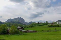 Il villaggio tradizionale alloggia il savsat di Artvin Fotografia Stock Libera da Diritti