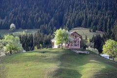 Il villaggio tradizionale alloggia il savsat di Artvin Immagini Stock Libere da Diritti
