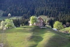 Il villaggio tradizionale alloggia il savsat di Artvin Immagini Stock