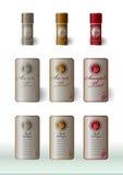 il vino contrassegna la presentazione di base Fotografie Stock