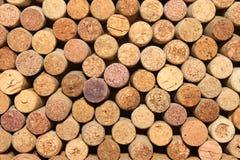 Il vino differente tappa la struttura Fotografia Stock