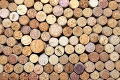 Il vino differente tappa la struttura Fotografia Stock Libera da Diritti