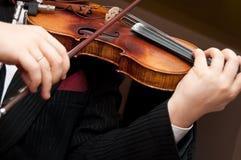 Il violino Fotografie Stock Libere da Diritti