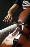 Il Violoncello Fotografia Stock