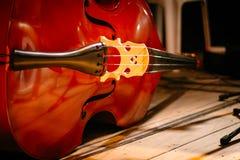 Il violoncello Fotografia Stock Libera da Diritti