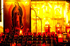 Il Virgin Mary Fotografia Stock