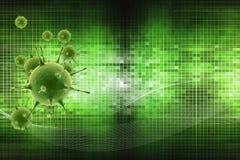 Il virus Fotografia Stock Libera da Diritti