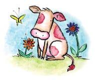Il vitello Fotografie Stock Libere da Diritti