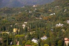 IL Vittoriale στη λίμνη Garda Ιταλία Στοκ Εικόνα