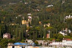 IL Vittoriale στη λίμνη Garda Ιταλία Στοκ Φωτογραφίες