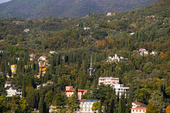 Il Vittoriale on Lake Garda Italy Royalty Free Stock Photography