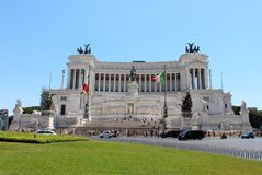 Il Vittoriano Royalty Free Stock Photo