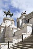 Il Vittoriano (della Patria Altare) в аркаде Venezia, Риме, Италии Стоковое Изображение RF