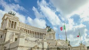 Il Vittoriano a Roma Fotografia Stock Libera da Diritti