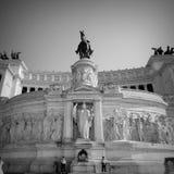 Il Vittoriano Roma Włochy obraz stock