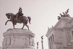 Il Vittoriano, Rome Stock Image