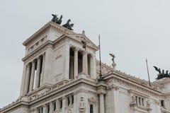 Il Vittoriano. Rome, Italy. Stock Image