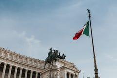 Il Vittoriano, Rome (Italy). Royalty Free Stock Image