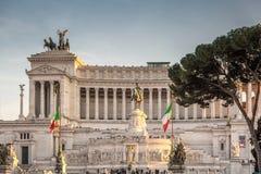 Il Vittoriano Rome Stock Images