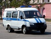 Il volante della polizia Immagine Stock Libera da Diritti