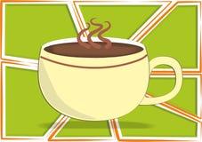 Il vostro caffè Fotografia Stock