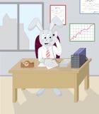 Il vostro coniglietto ha scritto Immagine Stock