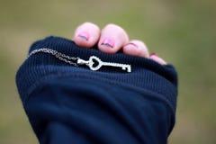 Il vostro cuore; Le mie mani Fotografie Stock