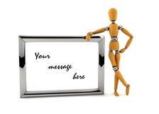 Il vostro messaggio illustrazione di stock