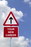 Il vostro nuovo segno di carriera Immagine Stock Libera da Diritti