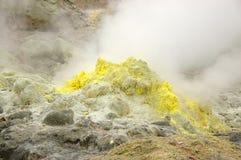 Il vulcano Fotografia Stock