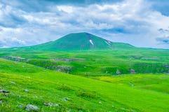 Il vulcano antico Fotografia Stock Libera da Diritti