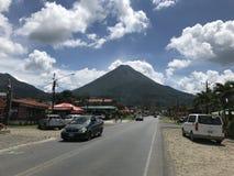 Il vulcano di Arenal fotografia stock