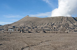 Il vulcano di Bromo Fotografie Stock Libere da Diritti