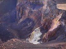 Il vulcano di Fogo nell'isola dello stesso nome, arcipelago di Capo Verde immagini stock libere da diritti