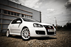 Il Vw golf GTI Fotografia Stock