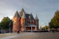 Il Waag, Amsterdam, Paesi Bassi Fotografia Stock Libera da Diritti