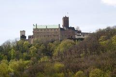 Il Wartburg, Germania immagini stock libere da diritti