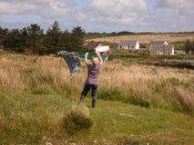 Il washerwoman fotografie stock libere da diritti