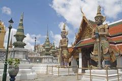 Il Wat Phra Kaew Immagine Stock