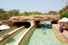 Il waterpark di Aquaventure Immagini Stock