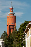 Il Watertower in Hanko, Finlandia Fotografia Stock